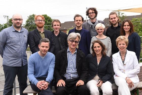 WIM WENDERS STIPENDIUM – Am 2.Juni 2015 wurden Dennis Todorovic und ich für unseren Sci Fi-Stoff LIFE ON LAIKA mit dem Wim Wenders Stipendium ausgezeichnet. Nach einer Weiterentwicklung des Drehbuchs im Rahmen des renommierten Equinoxe Programms der Europäischen Union befindet sich der Film zurzeit in Vorproduktion. Foto: Heike Herbertz / Film- und Medienstiftung NRW