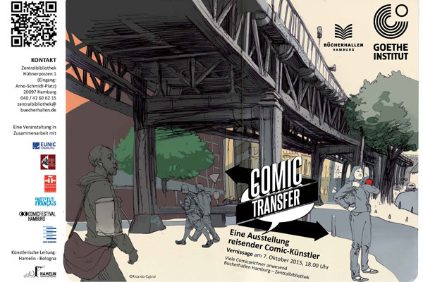 Comic Transfer Vernissage