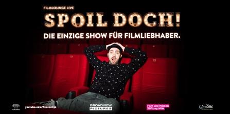 SPOIL DOCH! 2020 – Dominik Porschen geht erneut mit der Cine Latenight-Show auf Tour, die ich mit ihm geschrieben habe.