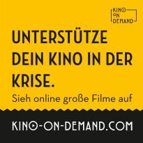 Auch während der Corona-Krise können Kinos über unseren Dienst Kino on Demand auf www.kino-on-demand.com Filme zeigen.